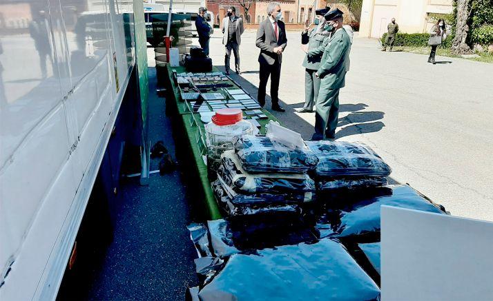 Desarticulada en Segovia una organización que operaba con un sistema pionero de ocultación de droga