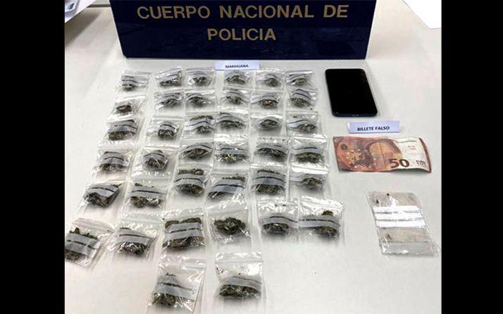 Detenido 'in fraganti' cuando vendía drogas en Ponferrada