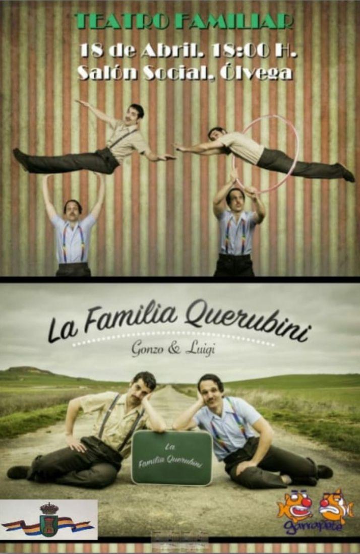 Foto 2 - El domingo, teatro de 'variedades' en Ólvega