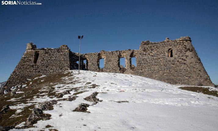 Imagen invernal del castillo. /SN