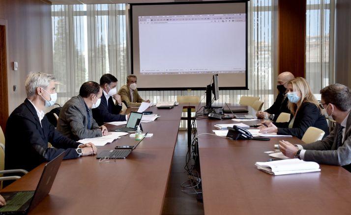 Una imagen de la presentación del proyecto. /Jta.