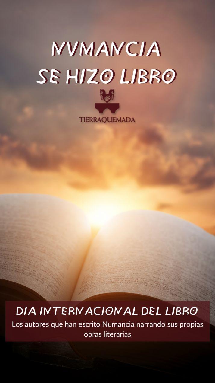 Foto 2 - Tierraquemada conmemora el Día del libro con los autores que han escrito sobre Numancia