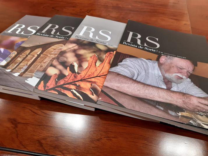Varios números de la Revista de Soria.