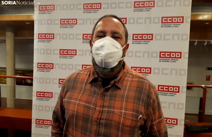 Javier Moreno, candidato a la Secretaría Provincial de CCOO.