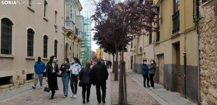 Imagen de una calle de Zamora.