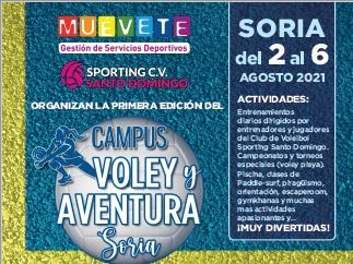 Foto 1 - Primer Campus de Voleibol y Aventura en Soria