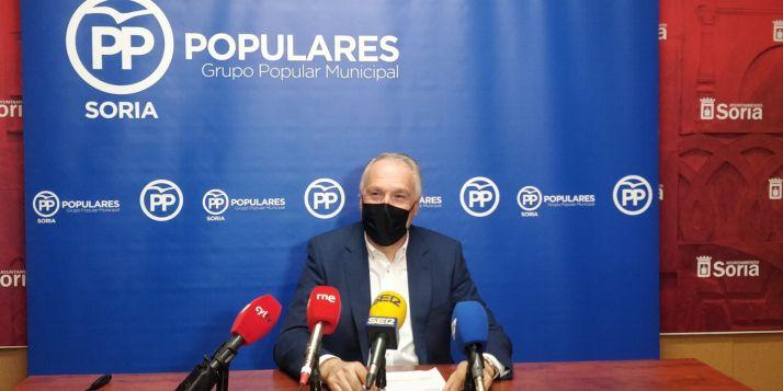 """Foto 1 - Remacha: """"A Mínguez le cuesta muy poco gastar el dinero de los sorianos"""""""