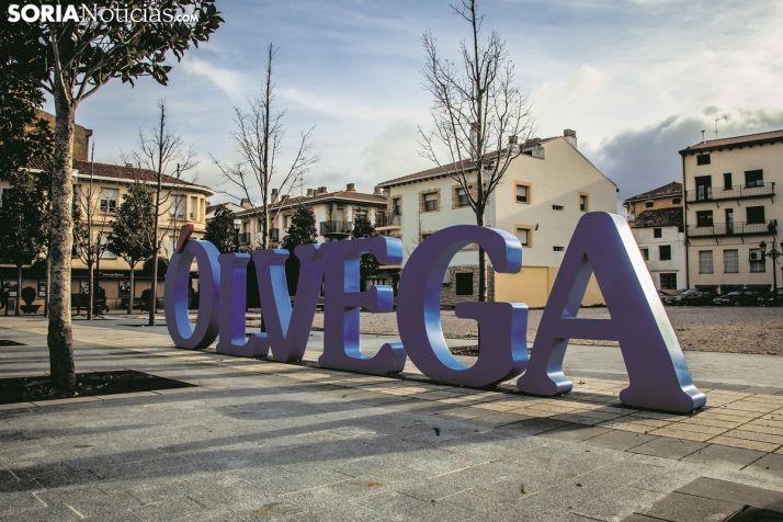 Imagen de la ubicación de la plaza Central de Ólvega.