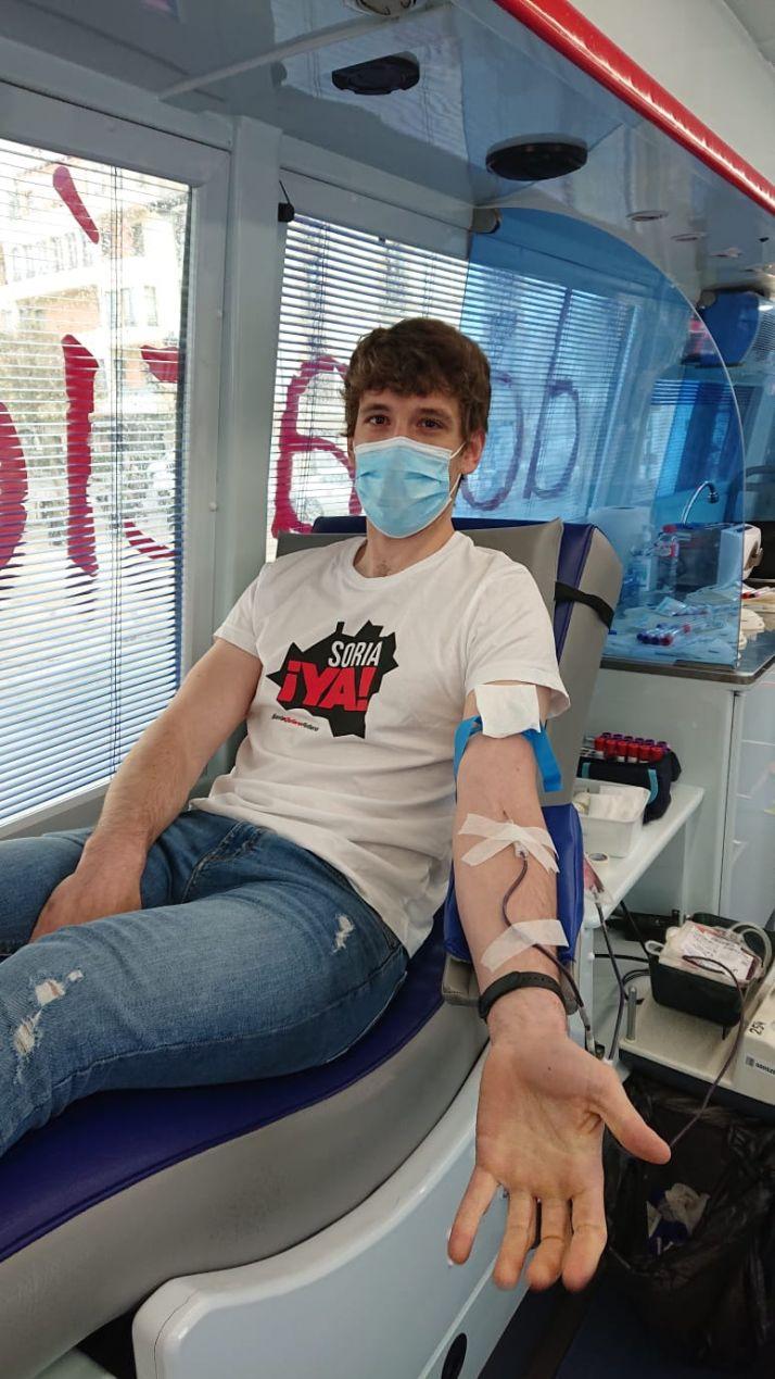 Foto 2 - Soria ¡Ya! dona su sangre