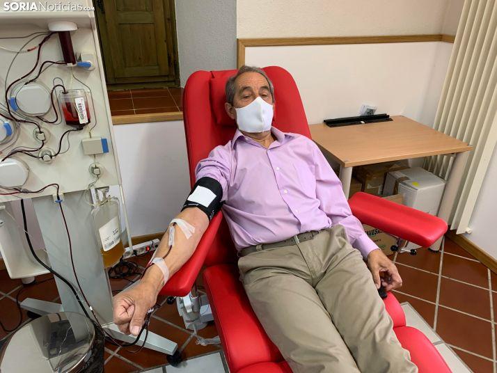 Una vida con 162 donaciones de sangre y plasma