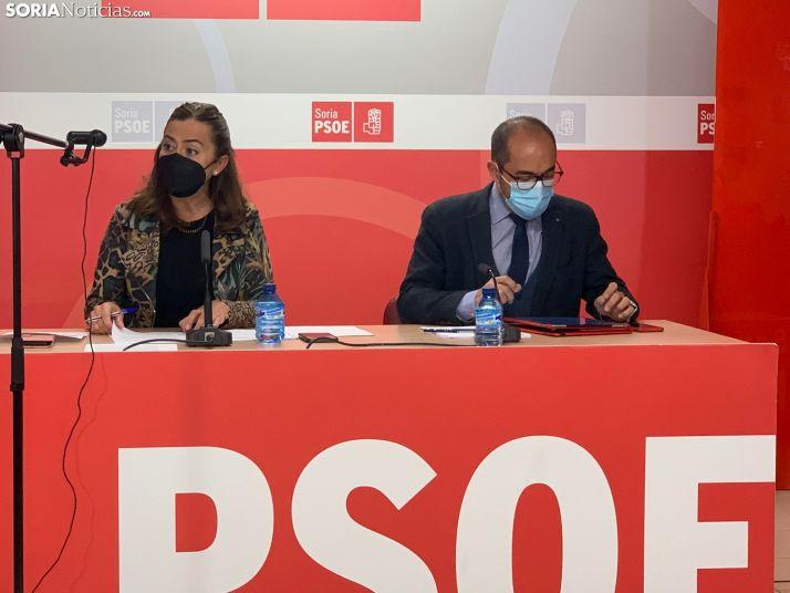 Foto 1 - El PSOE contario al plan del servicio de extinción de incendios de la Junta