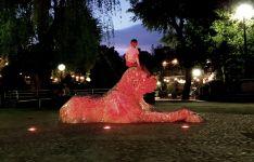 Soria se ilumina de rojo en del Día Mundial de la Cruz Roja