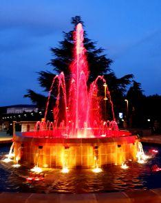 Foto 4 - Soria se ilumina de rojo en del Día Mundial de la Cruz Roja