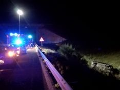 Foto 3 - Complicado accidente en Ágreda con una mujer trasladada a Soria