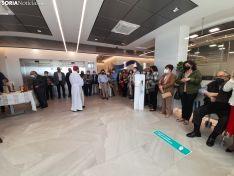 Una imagen del acto de bendición del Hospital Latorre. /SN