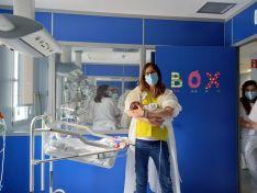 Foto 4 - Los sanitarios sorianos, con 'sus' niños hospitalizados