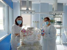 Foto 3 - Los sanitarios sorianos, con 'sus' niños hospitalizados