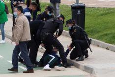 Enfrentamiento Jugador Numancia / María Ferrer