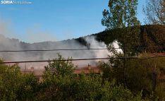 Una imagen de la humareda originada en el incendio. /SN