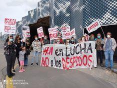 Imágenes de las manifestaciones en Soria./ Foto: CCOO Soria