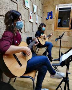 Imágenes de la Escuela./ Foto: Escuela de Música de Soria 'Enclave Musical'.