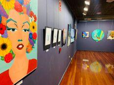 Abierta al público la exposición de artes plásticas en la sala Z de la Audiencia