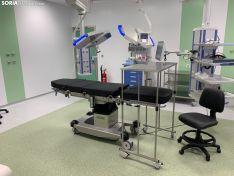 Imágenes de las instalaciones del hospital.