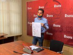 Imagen de Eder García con el programa.