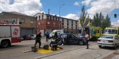 Accidente en Eduardo Saavedra.