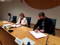 Firma del convenio y presentación de la concentración permanente.