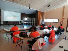 Formación para Protección Civil en Golmayo.