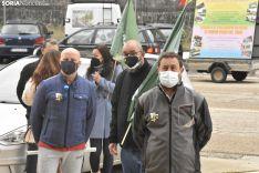 Concentración de Vox y Solidaridad en Soria.
