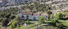 Imagen de La Monjía, a los pies del Pico Frentes, en Fuentetoba.