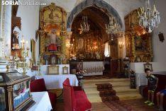 Interior de la ermita de La Monjía.