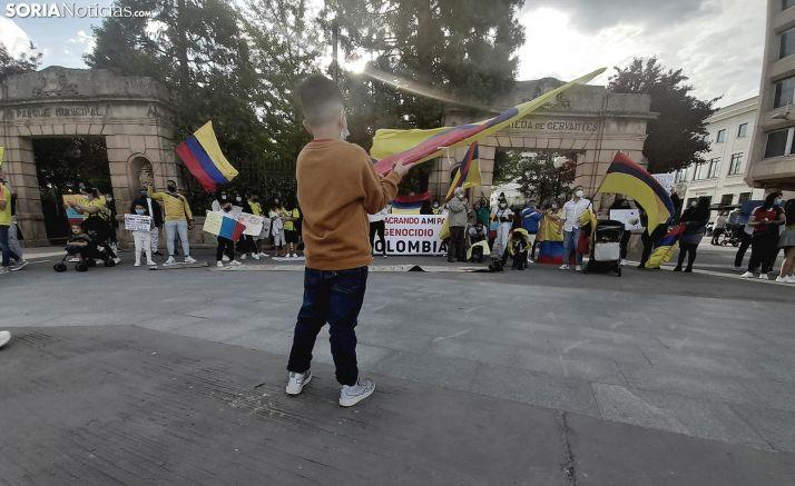 Colombia clama en Soria