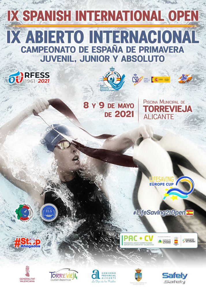 Cartel anunciador de la cita. /Foto: Federación de Salvamento y Socorrismo de Castilla y León.