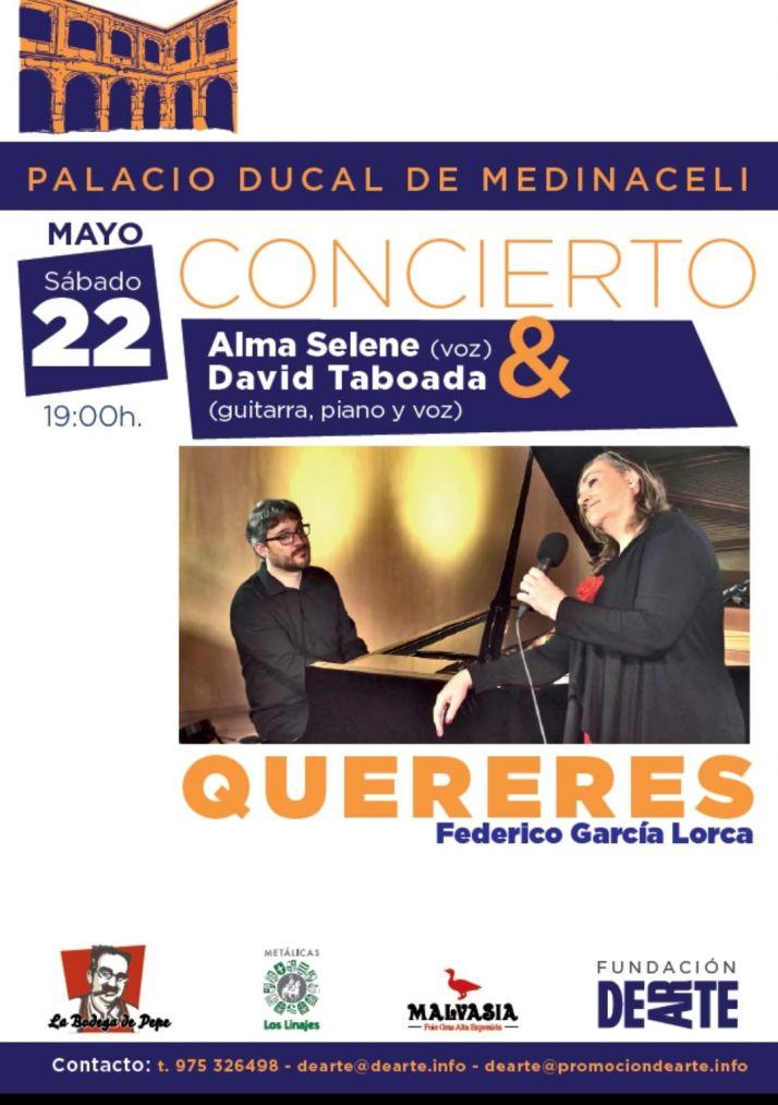 Foto 1 - Alma Selene y David Taboada deleitarán esta tarde al público de Medinaceli