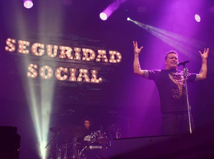 Seguridad Social en concierto en una imagen de archivo. /Facebook