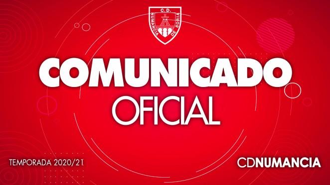 Foto 1 - Comunicado oficial del Club Deportivo Numancia