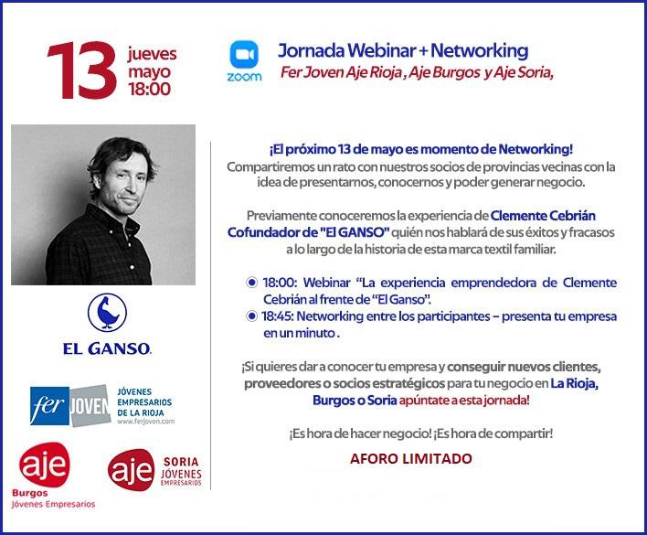 Foto 1 - AJE Soria organiza una videojornada de networking con las Asociaciones de La Rioja y Burgos