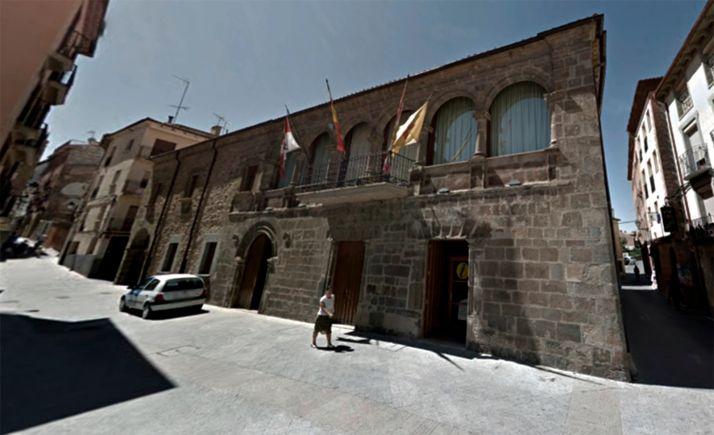 Una imagen de la sede consistorial agredeña. /GM