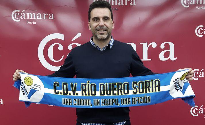 Alberto Toribio, en Soria. /CVRD