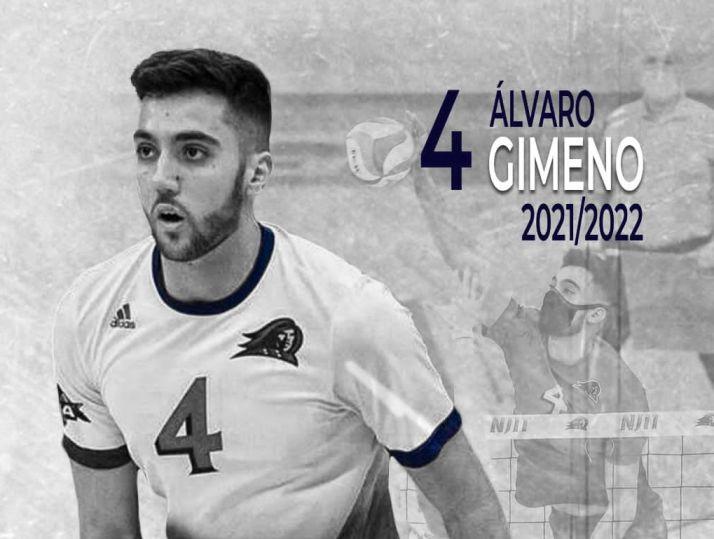 Fichaje de Álvaro Gimeno.