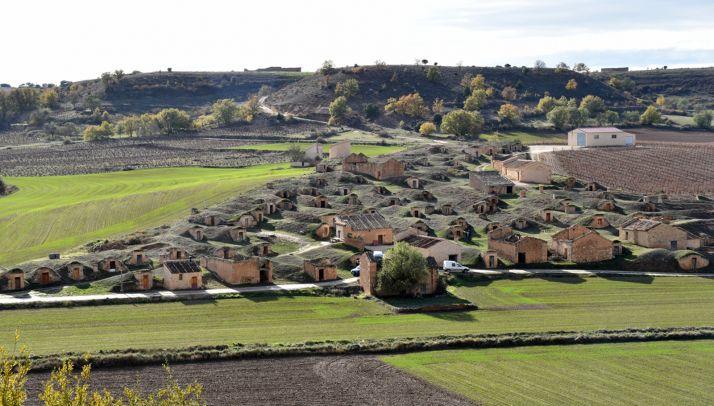 Una imagen del conjunto de la localidad perteneciente al municipio sanestebeño.
