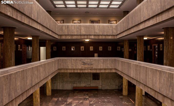 Una imagen del interior de las dependencias municipales. /SN