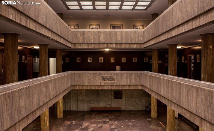 Imagen del interior de la sede consistorial. /SN