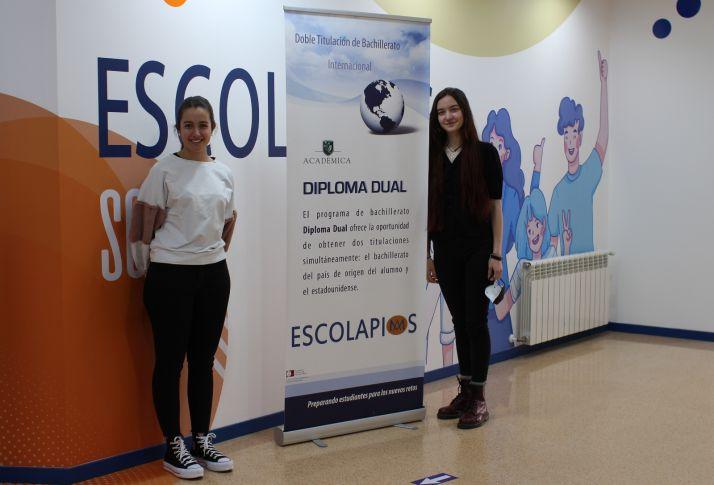 Cristina Laseca Carro y Celia Teresa Manchado.