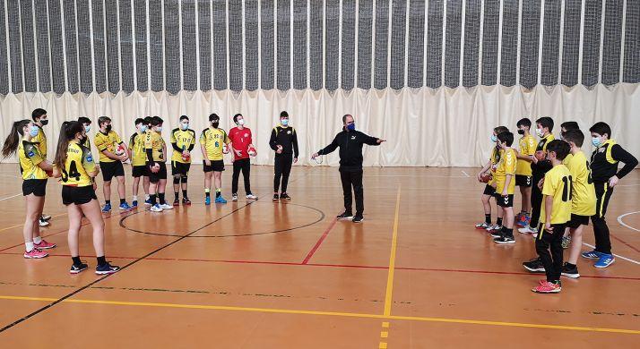 Un entrenamiento de las categorías inferiores del club en el San Andrés. /BMS