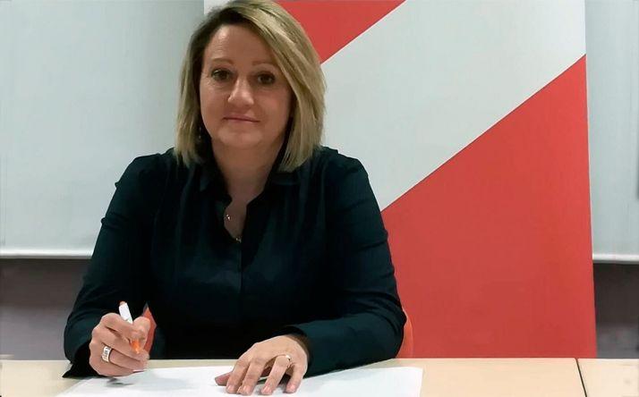 Belén Redondo, coordinadora de Cs en Soria.