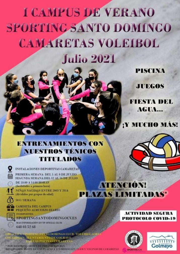 Foto 2 - Ya hay fechas para los campus del Sporting Santo Domingo de voleibol